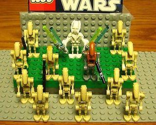STAR WARS LEGO MINI FIGURE  MINI FIG  GENERAL GRIEVOUS AND 12