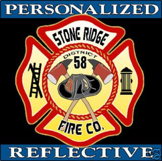 firefighter helmet decals in Stickers & Decals