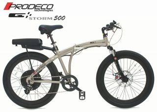 Prodeco Technologies 2012 STORM 36V 500W LiFEPO4 Electric Bicycle Bike