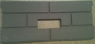Whitfield Pellet Stove Firebrick Cerra Board for Quest Plus OEM Part