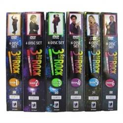 3rd Rock from the Sun The Complete Series DVD, 2010, 24 Disc Set