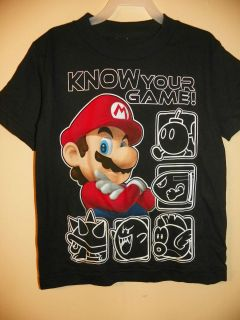 SUPER MARIO/5 CHARACTERS BOY​S 4,5/6 & 7 KNOW YOUR GAME LICENSE