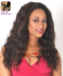 Chade New Born Free Synthetic Magic Lace Front Wig   ML57 (Long jerry
