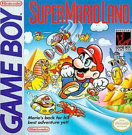 Super Mario Land Nintendo Game Boy, 1989