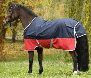 Horseware Ireland Amigo Mio Turnout Sheet 66 to 84  Navy and Red