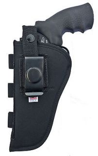 Nylon Belt Gun Holster for Taurus 65 66 82 4 Revolver, S&W 586