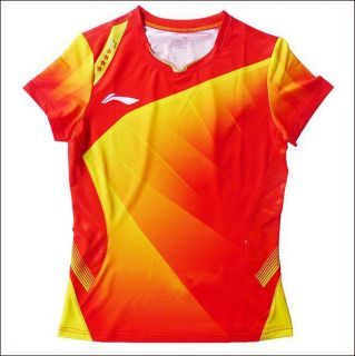 Li Ning London Olympic 2012 VICTOR Men Badminton/ Table Tennis Shirt