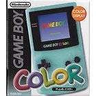 Nintendo Game Boy Color Clear Handheld System