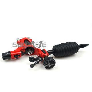 PRO Rotary Tattoo Machine Gun Adjustable Shader & Liner RED Firefly