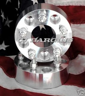 GMC OLDS PONTIAC  2 5X4.75  5X120.7MM 5LUG WHEEL ADAPTERS SPACER
