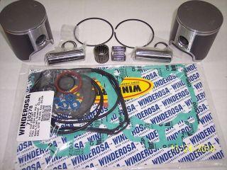 1999 2007 SKI DOO 600 SPI COMPLETE PISTON KIT GSX GTX MXZ FORMULA