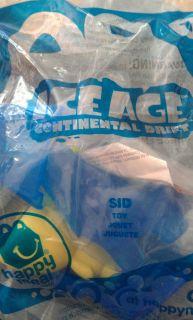 mcdonalds toys ice age sid