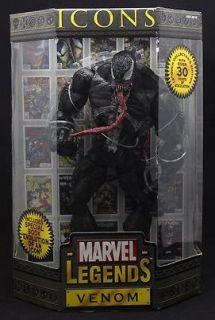 Spider Man Toybiz MARVEL LEGENDS SPIDERMAN ICONS VENOM ACTION FIGURE
