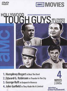 Hollywood Classics Hollywood Tough Guys DVD, 2004, 2 Disc Set
