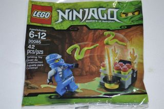 LEGO NINJAGO JAY BUILDING SET 42 PCS. # 30085 SOLD OUT IN STORES