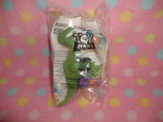 BURGER KING KIDS CLUB MEAL TOY SYORY REX NEW SEALED IN PKG. CUTE
