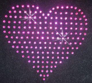 iron transfers pink