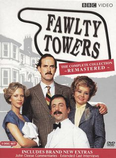 Fawlty Towers The Complete Collection DVD, 2009, 3 Disc Set, Special