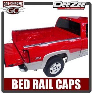 Zee Brite Aluminum Bed Rail Caps Chevy GMC C/K Truck 6.5 1988 1998