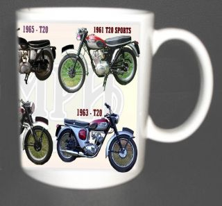 TRIUMPH TIGER CUB T20 CLASSIC BIKE MUG LIMITED EDITION.