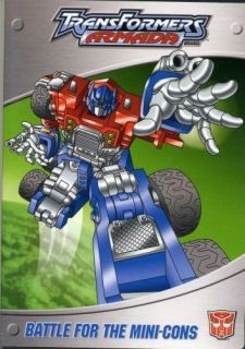 Transformers: Armada   Battle for the Mini Cons (DVD, 2004)