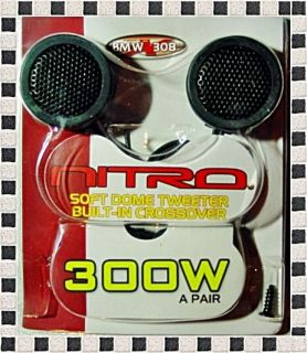 New Nitro BMW Soft Dome Car Stereo Tweeters Speakers