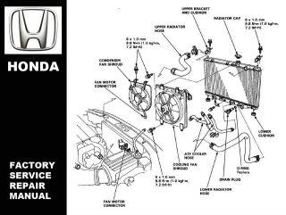 HONDA CR V CRV 1997 1998 1999 2000 2001 2002 FACTORY SERVICE REPAIR