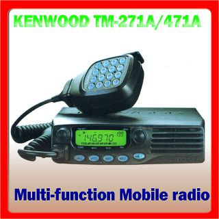 Kenwood TM 271A VHF Mobile Two Way Radio Transceiver