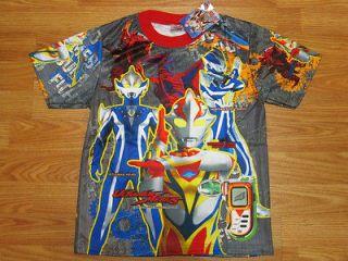 Ultraman Mebius Boys Girls Kids T Shirt Size XL Age 8 10 #01 New