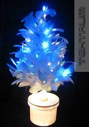 fiber optic tree white in Christmas Current (1991 Now)