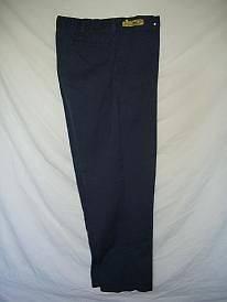 Pants Mens Navy Blue Work Pants size 34x32 Length $5.00 each