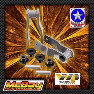 REAR SHACKLE LIFT KIT SET LEAF SPRING 4X4 4WD INCH XJ MJ WAGONEER