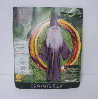 Lord Of The Rings LOTR Gandalf Wizard Costume Childs Sm 4 6 #38781