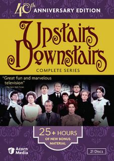 Upstairs Downstairs   The Complete Series DVD, 2011, 21 Disc Set, 40th