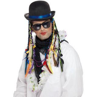 Mens Multi Colored Boy George Hat Costume Accessory
