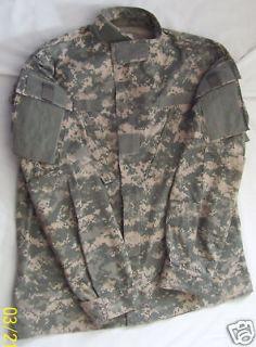 ACU Combat Uniform Shirt Coat Medium Short Military Issue 50/50