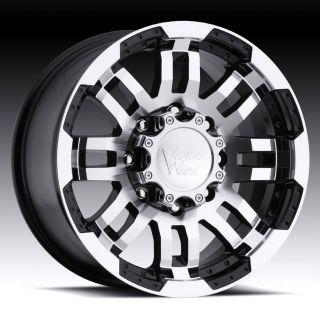 15 inch Vision Warrior Black Wheels rims Ford Ranger
