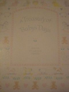 Baby Memory Book in Baby Books & Albums