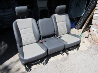 03 12 DODGE RAM COMPLETE FRONT SEATSNEW​LEATHEROEM, OUT OF