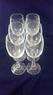 Vintage STEMWARE Crystal Glass FOOTED CHAMPAGNE STEMS WINE GLASSES