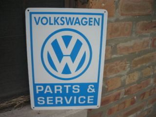 Newly listed Volkswagen Parts & Service sign VW Bug Bus Bettle 66 69