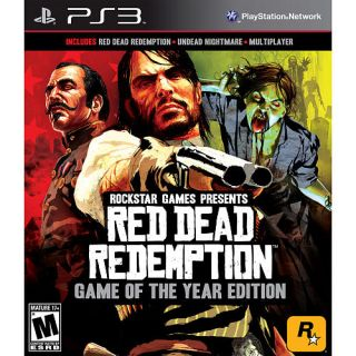 Red Dead Redemption Game of the Year Edition Sony Playstation 3, 2011