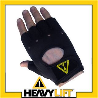 HeavyLift NEOPRENE Weight Lifting Exercise Gloves S/M