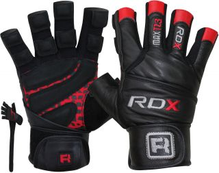rdx membrane pro weight lifting body building gloves gym fitness
