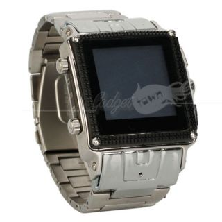 Unlocked Waterproof Watch Cell Phone  MP4 SPY Camera Bluetooth W818