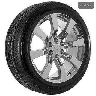 Chevy Chevrolet Chrome Silverado Suburban Tahoe Rims Wheels and Tires