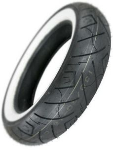 Shinko SR777 Wide White Wall Rear Motorcycle Tire Size 170/80 15