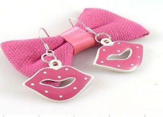 HOT Wholesale Lady 6Pair/Lot Charm Fashion Jewellery Cute Lips Stud