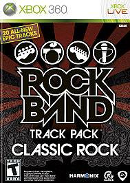 Rock Band Track Pack Classic Rock Xbox 360, 2009