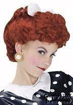 Childs I Love Lucy Halloween Costume Hair Wig